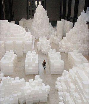 Rachel Whiteread 'Embankment', 2005