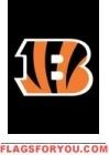 """Bengals Mini Flag 15"""" x 10 1/2"""""""