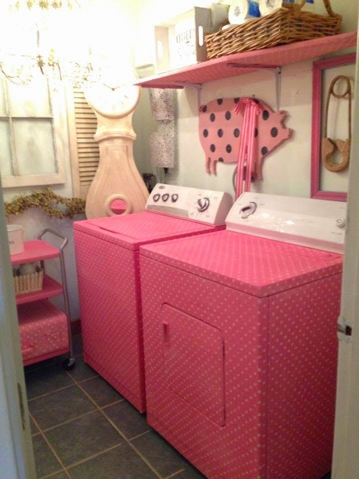 Junk Chic Cottage: Laundry Room Up Date