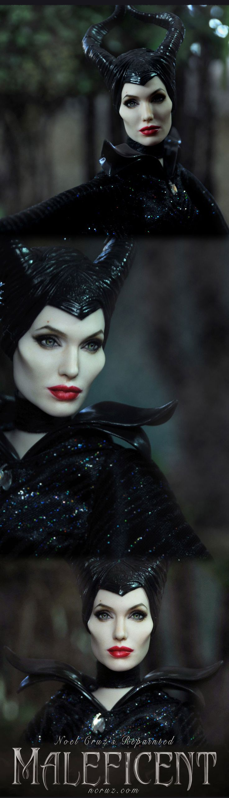 ::||www.ncruz.com::|| Angelina Jolie as MALEFICENT by Noel Cruz