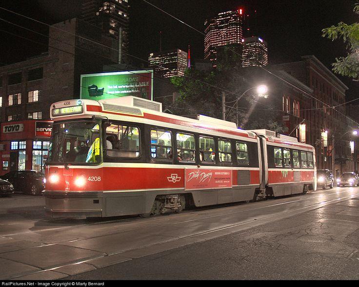 RailPictures.Net Photo: TTC 4208 Toronto Transit Commission Modern Streetcar at Toronto, Ontario, Canada by Marty Bernard