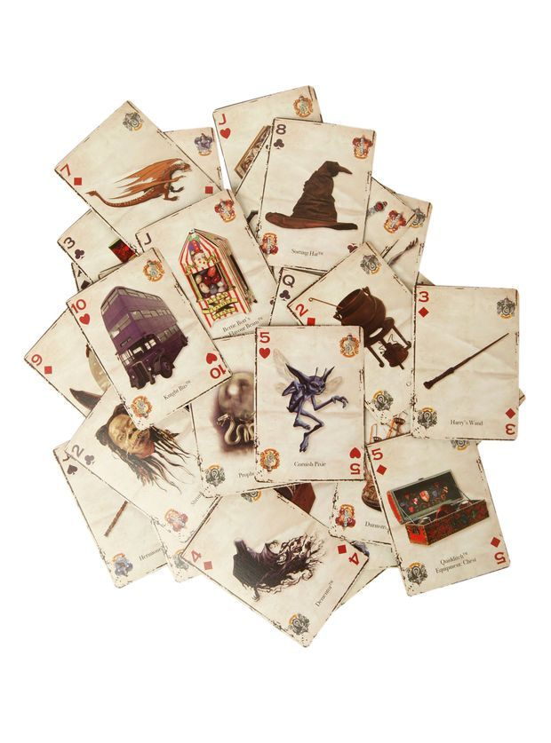 f8c79a0ac5c2 Harry Potter Playing Cards