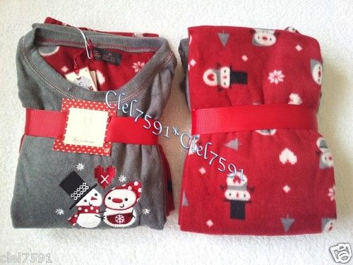 NEW SOFT & WARM FLEECE WINTER PYJAMAS LADIES WOMEN'S GIRLS SZ 10-20 XMAS DESIGNS | eBay
