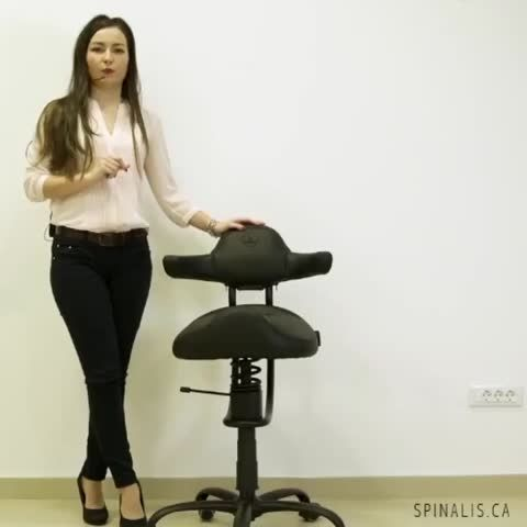 Spinalis Canada Rodeo series chair is great for active living #spinaliscanada #spinalis #chair #fitness #rodeo #rodeoseat #workout #funny