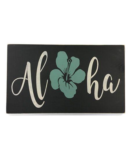 Saras Signs Aloha Wall Art | zulily