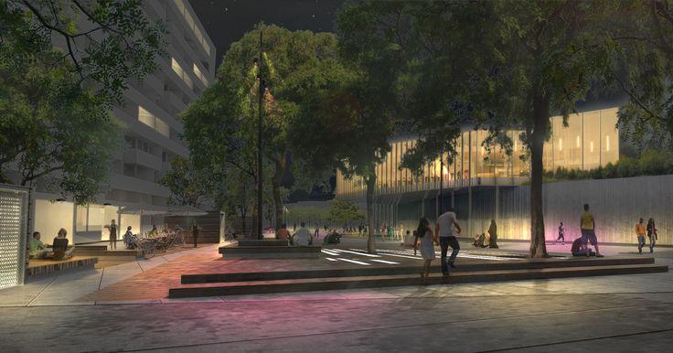 Conception lumière des quartiers des fossés Jean et Bouviers à Colombes (92)