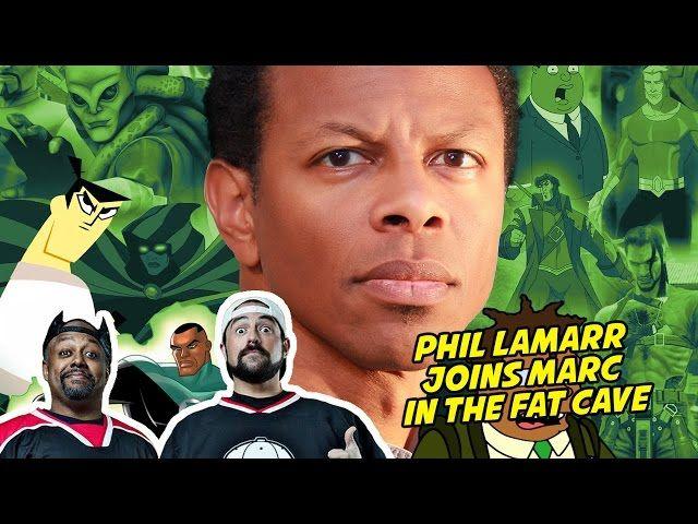 PHIL LAMARR JOINS MARC IN THE FAT CAVE - FAT MAN ON BATMAN 066 - Video --> http://www.comics2film.com/phil-lamarr-joins-marc-in-the-fat-cave-fat-man-on-batman-066/  #Batman