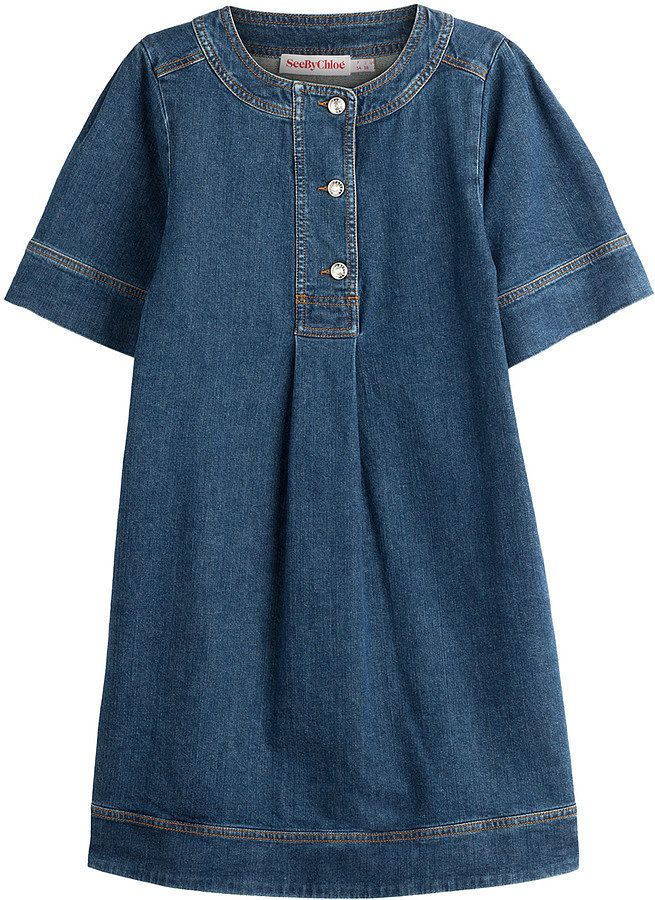 See by Chloé Denim Dress ($335)