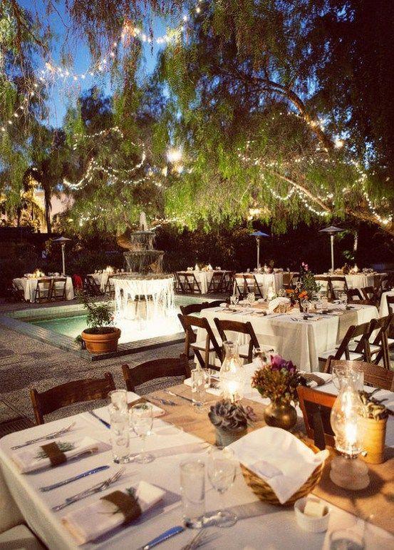 Cute outdoor wedding ideas | WEDDING IDEAS | Pinterest