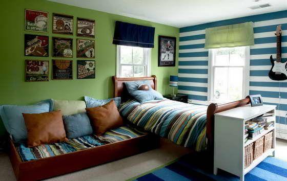 Цвет в интерьере детской комнаты photo