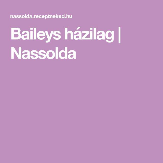 Baileys házilag | Nassolda