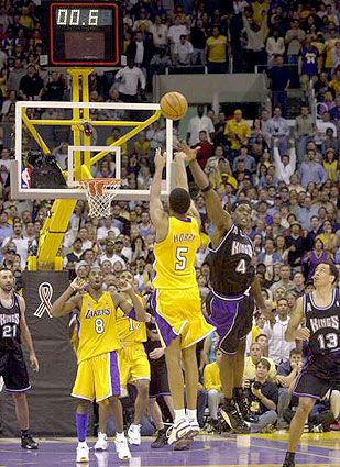 Robert Horry. Mr. Big Shot. Not considered one of the greatest players, but he has 7 rings and has hit a key shot in every single series he has ever player in and deserves to be recognized for his part in all 7 titles.