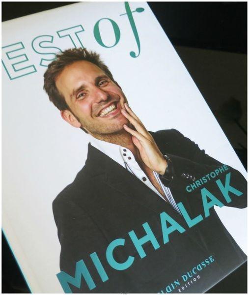 """Citation du jour : """"A Delphine, mon amoureuse"""", Christophe Michalak  Best Of Michalak, Alain Ducasse Edition, 12 €, Parution le 28 février 2013"""