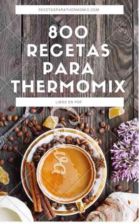 Libro gratis 800 recetas para Thermomix - Recetas para Thermomix