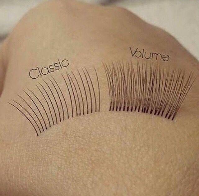 Classic & volume eyelash extensions