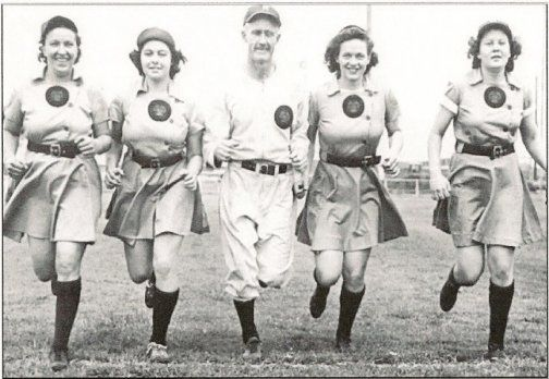 1942: With minor league baseball teams disbanding due to young men being drafted, chewing gum mogul Philip K Wrigley sought to solve the collapse of Major League Baseball Parks with the establishment of the All-American Girls Professional Baseball League. #TurnofStyle