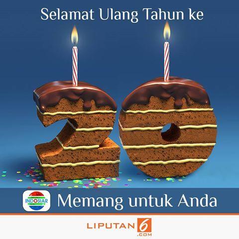 Selamat Ulang Tahun yang ke-20 Indosiar