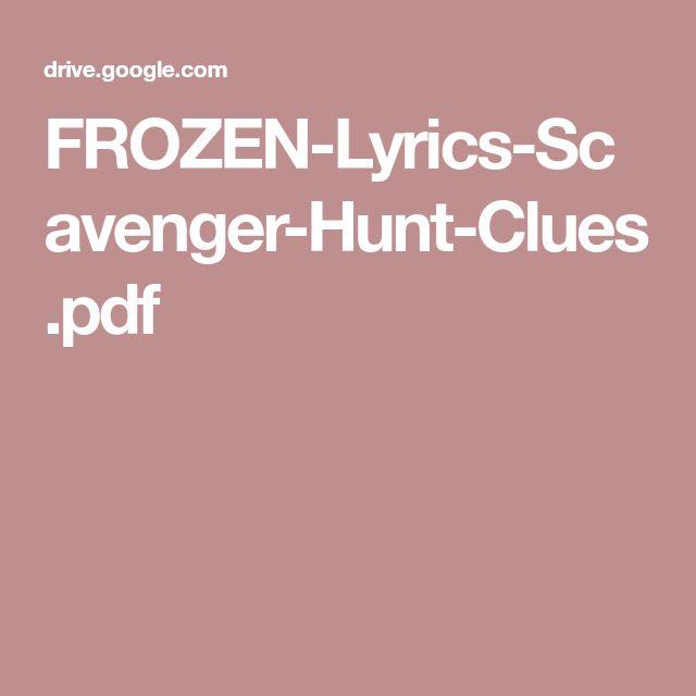 FROZEN-Lyrics-Scavenger-Hunt-Clues.pdf