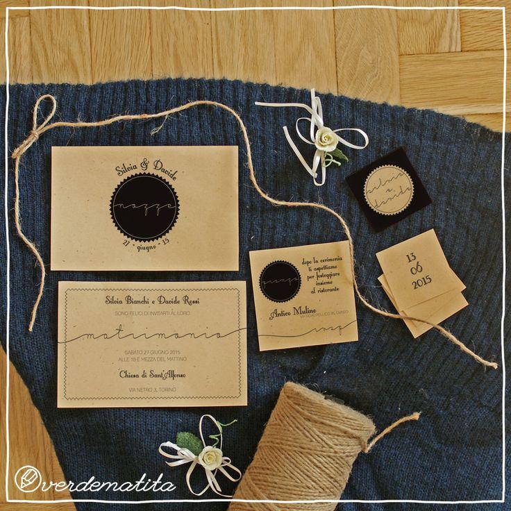 Set Inviti a nozze stampabili
