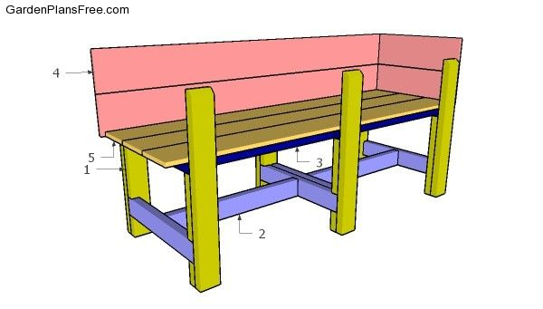 158 best planter box plans images on pinterest - Waist high raised garden bed plans ...