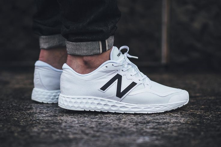 New Balance Gives the ML1980 a Clean White Makeover (yes, i would wear a men's sneaker!)