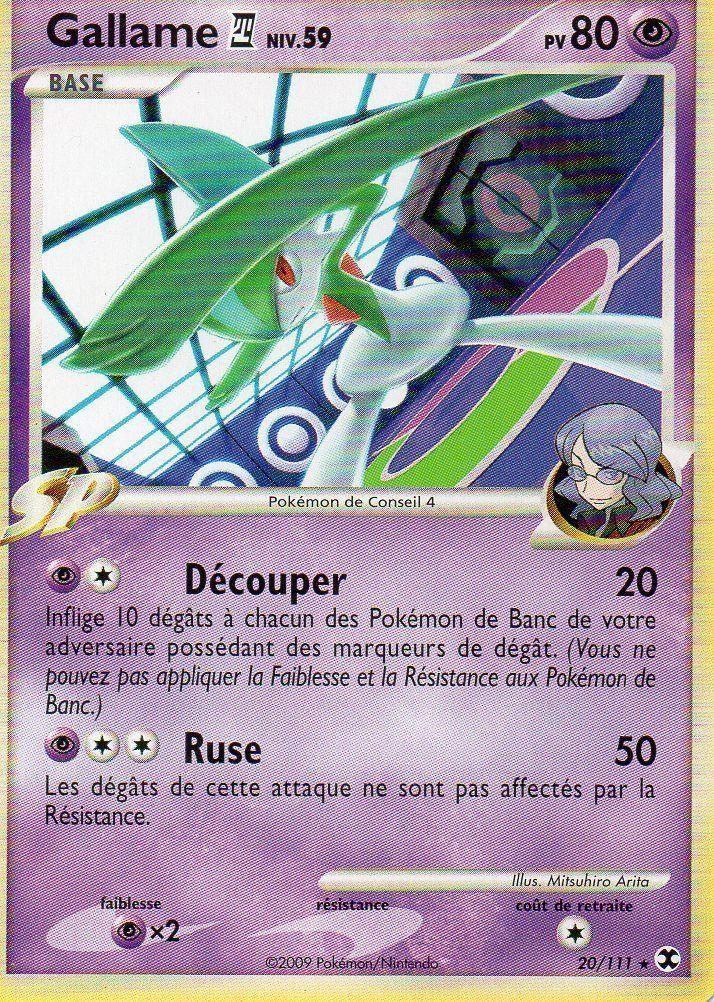 Gallame C4 NIV 59 80PV 20 111 Pokemon Platine Rivaux Emergeants   eBay