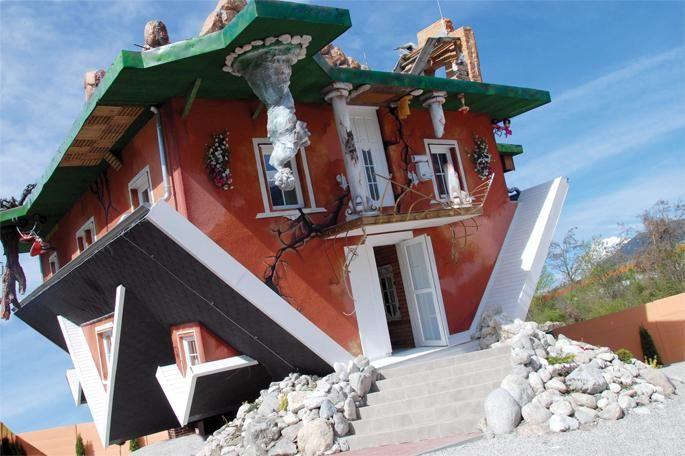 Haus Steht Kopf (fun house) - Schwaz, Austria