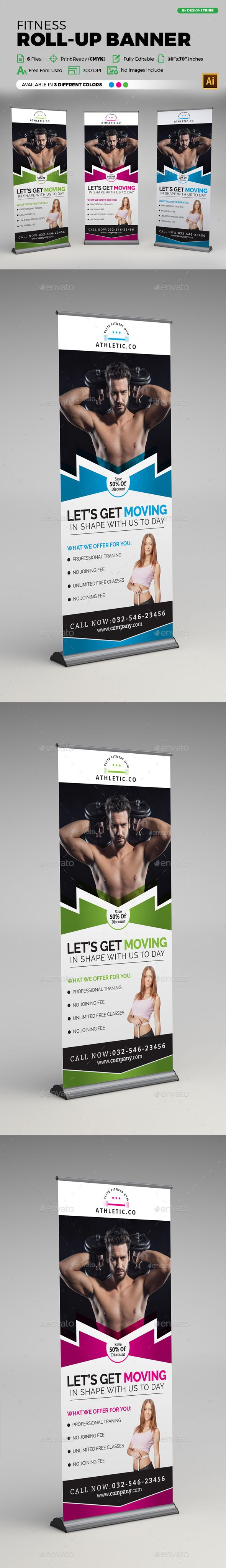Corporate Business Roll-up Banner by arsalanhanif Corporate Business Roll-up Banner Template. This layout is suitable for any business. Very easy to use and customize. ...........