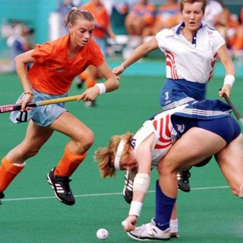 Mijntje Donners - Netherlands Donners mustered 234 international caps for the Dutch National Women's Team, scoring 97 goals. Although she never won the big prizes - Olympic gold or the World Cup - Donners was still an instrumental part of the Dutch team that won bronze at the Atlanta Games. Was voted best player of the world in 2003.