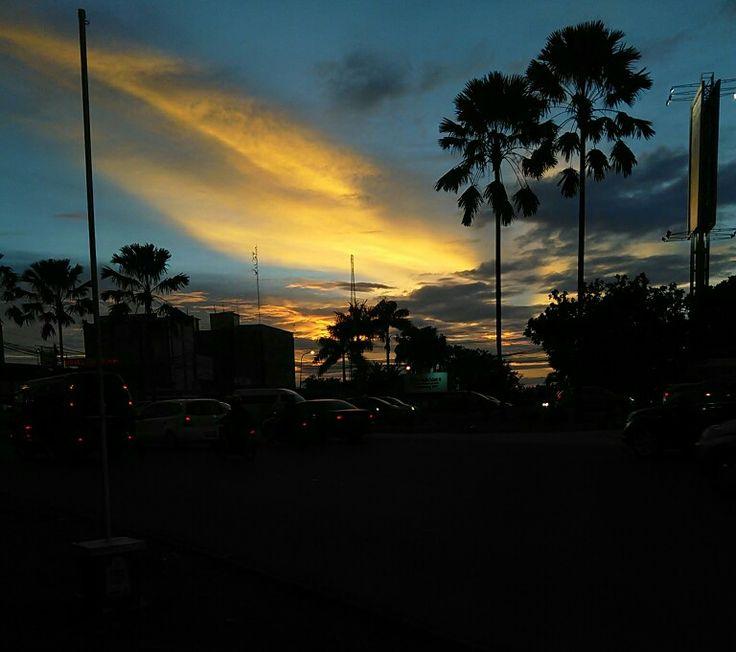 Burning Skies by Heru Tri P