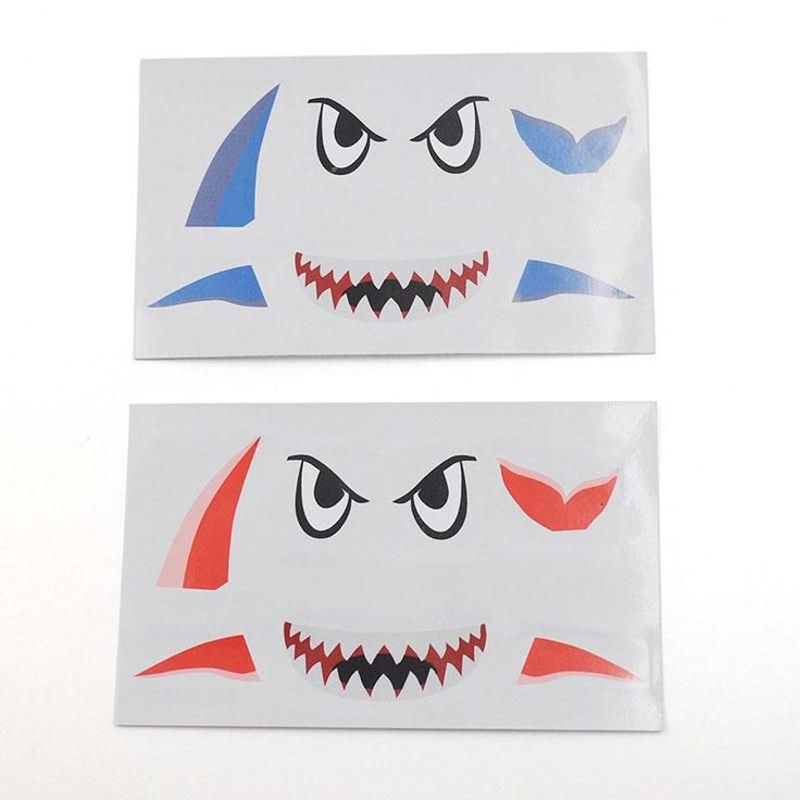 >> Click to Buy << 3*3*0.01cm Shark Style Shaped Waterproof Car Model Toys Body Stickers Decals for MAVIC PRO Drone Random Color #Affiliate