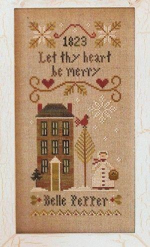 Be Merry - Belle Pepper - (Cross Stitch)