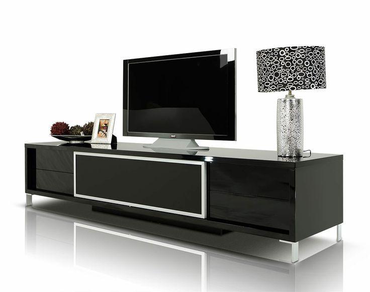 Stylish Design Furniture - Brighton - Black Entertainment Center, $945.00 (http://www.stylishdesignfurniture.com/products/brighton-black-entertainment-center.html)