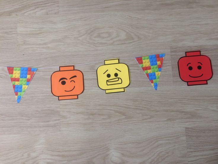 DIY Lego vlaggenlijn