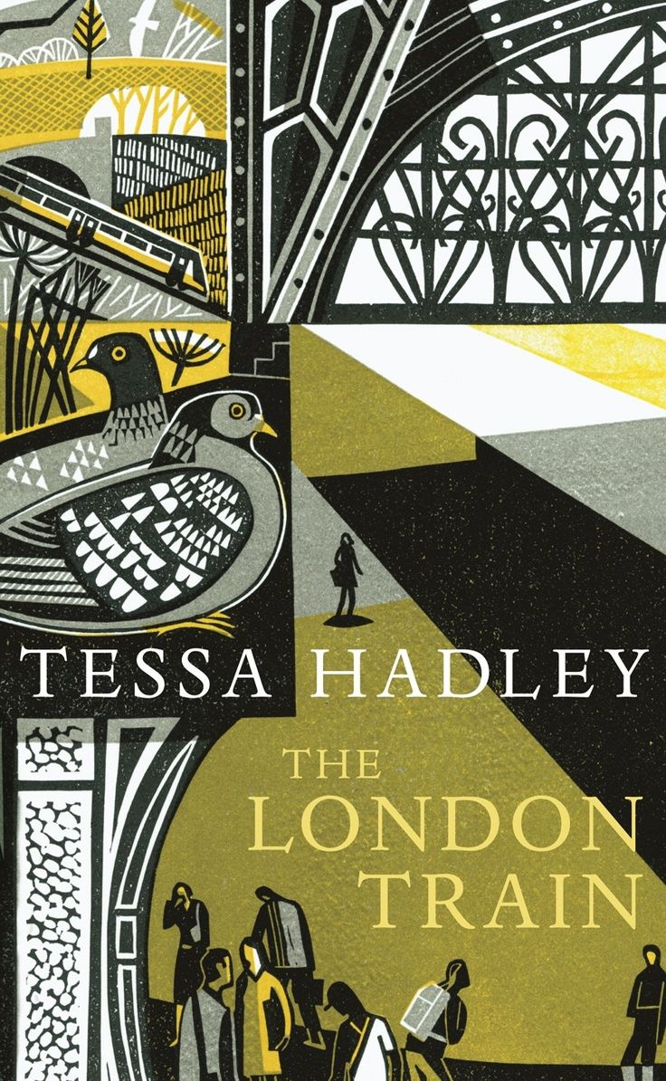 'The London Train' by Tessa Hadley. Cover illustration (linocut) by Clare Curtis