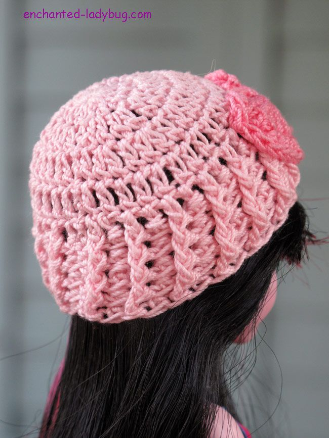 Free Crochet Monster High Hat pattern by The Enchanted Ladybug