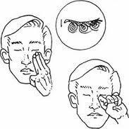Цигун массаж для глаз