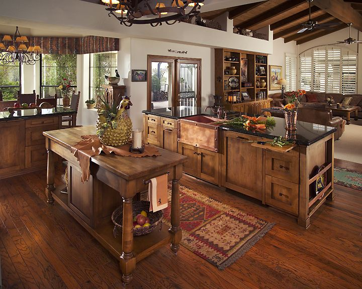 rustic kitchen | ... ~ Selected Spaces: 18 Kitchens: Rustic, Modern, Traditional, Chic