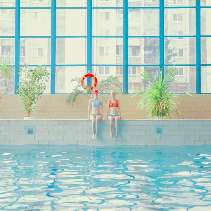 Swim: Inviting new work by Mária Švarbová dipped in appealing primary colours | Creative Boom