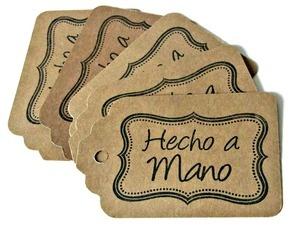 Etiquetas de hecho a mano.: Ideas For, Imprimible, Empaque, Ideas Regalo, Online Manualidades, Tarjeta