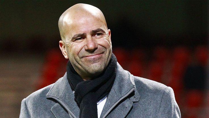 Ajax boss Peter Bosz says he feels 'no pressure' ahead of Man United clash