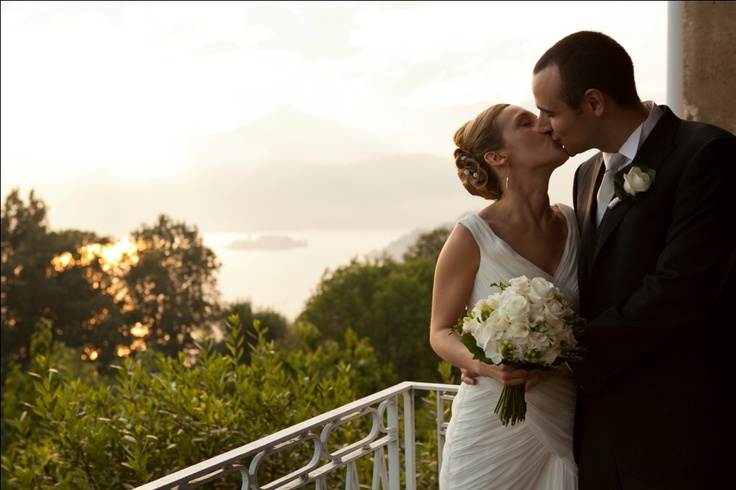 wedding on Orta Lake