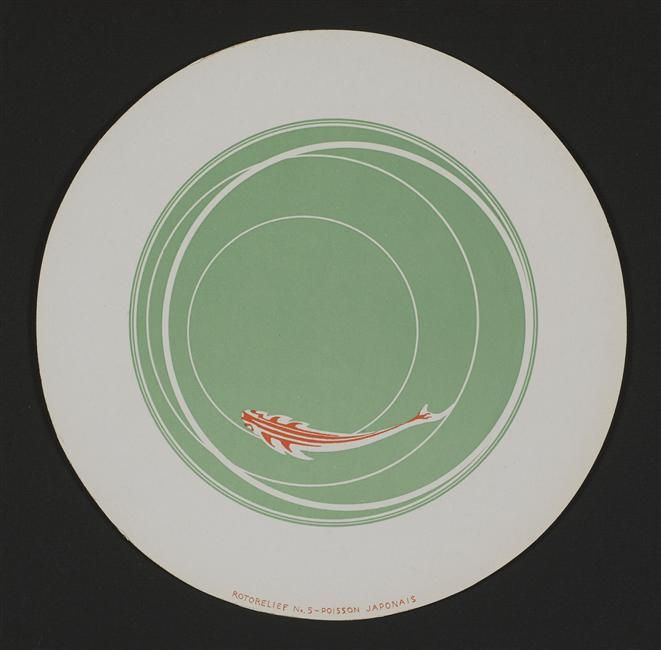 THE BLUE LANTERN: Circling: The Rotoreliefs Of Marcel Duchamp