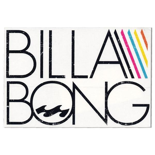 colorful billabong logo - Google Search