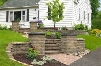 25  Best Concrete Retaining Wall Inspiration To Make Your Backyard Awesome