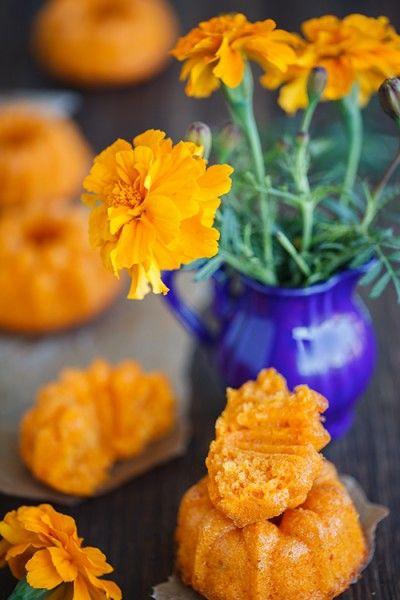 Тыквенные маффины с апельсиновой цедрой