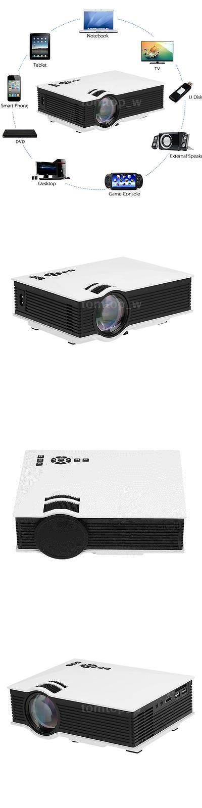 Home Theater Projectors: Uc46 Wifi Portable Mini Hd Led Video Home Theater Cinema Projector Miracast B7z5 BUY IT NOW ONLY: $67.95