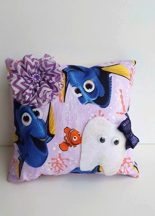 Hey, I found this really awesome Etsy listing at https://www.etsy.com/listing/481710585/tooth-fairy-pillow-finding-dory-tooth