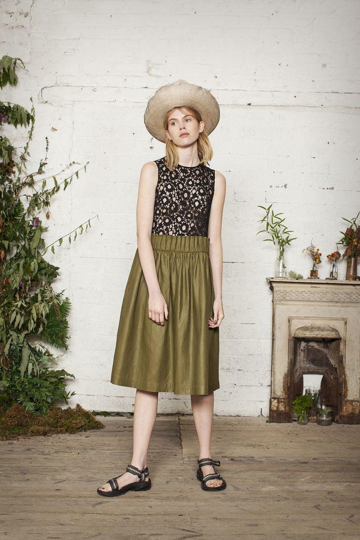 #hat #fashion #textile #lace #dress