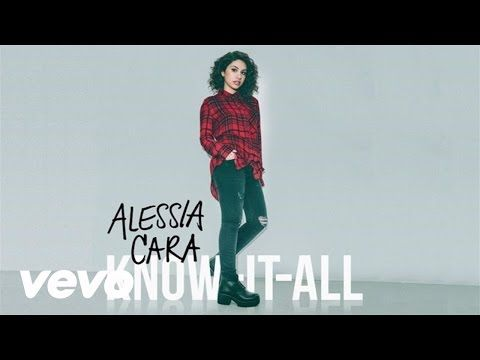 "Alessia Cara - Scars To Your Beautiful- ""You don't have to change a thing/ The world can change its heart..."""